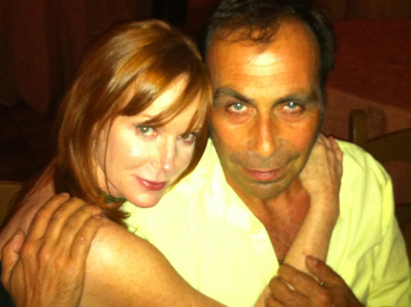 With Taylor Negron