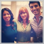 On-set on Jane the Virgin